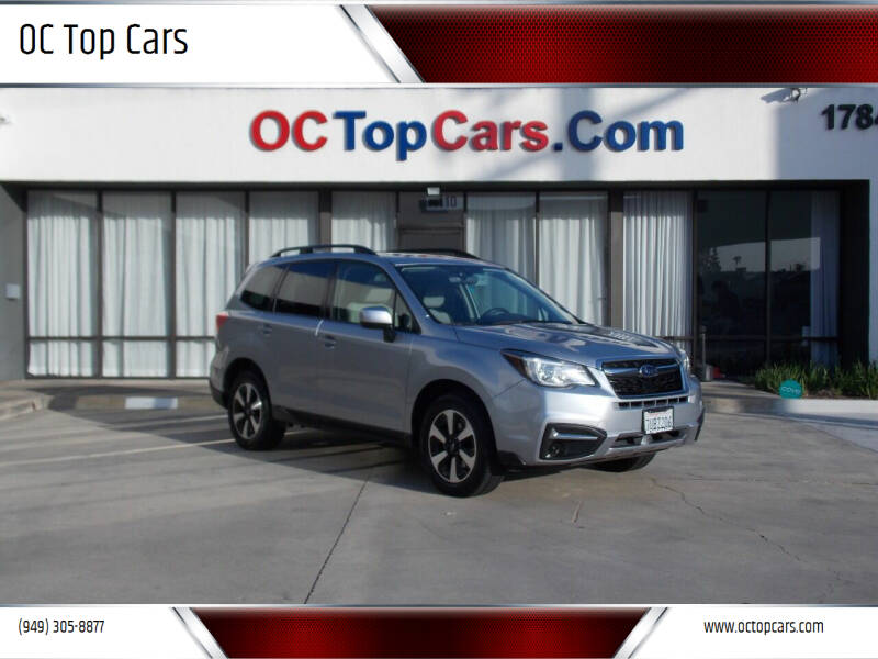 2017 Subaru Forester for sale at OC Top Cars in Irvine CA
