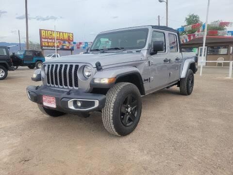 2021 Jeep Gladiator for sale at Bickham Used Cars in Alamogordo NM