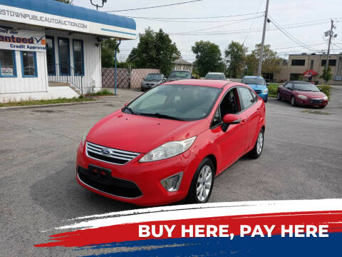 2012 Ford Fiesta for sale at E.L. Davis Enterprises LLC in Youngstown OH