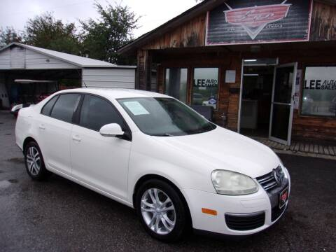 2008 Volkswagen Jetta for sale at LEE AUTO SALES in McAlester OK