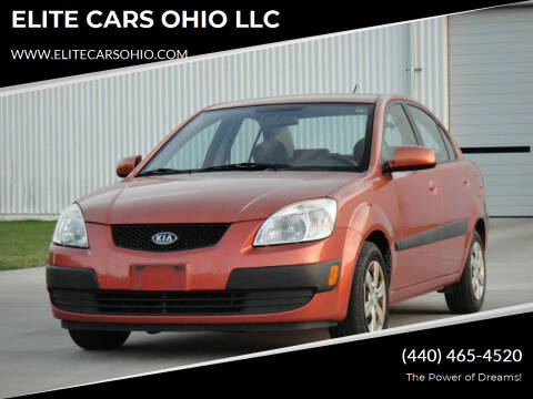 2009 Kia Rio for sale at ELITE CARS OHIO LLC in Solon OH
