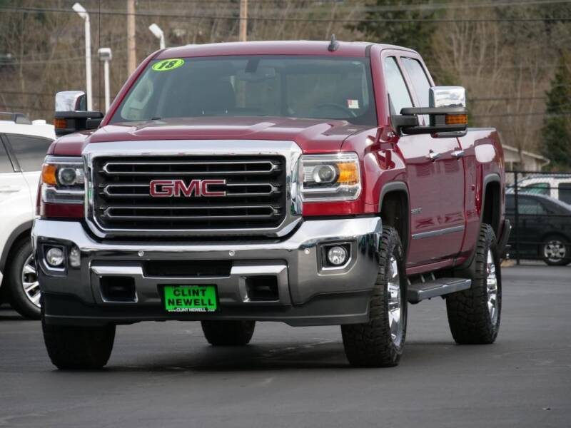 2018 GMC Sierra 2500HD for sale at CLINT NEWELL USED CARS in Roseburg OR