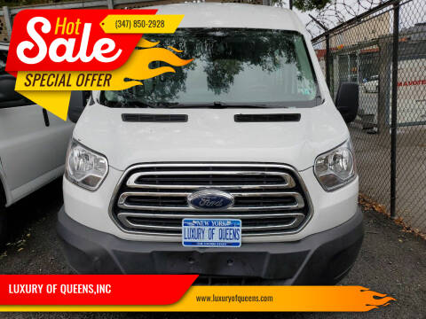 2019 Ford Transit Passenger for sale at LUXURY OF QUEENS,INC in Long Island City NY