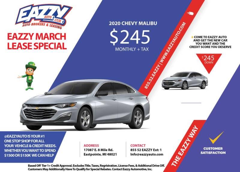 2020 Chevrolet Malibu for sale in Eastpointe, MI