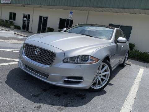 2012 Jaguar XJ for sale at Fisher Motor Group LLC in Bradenton FL
