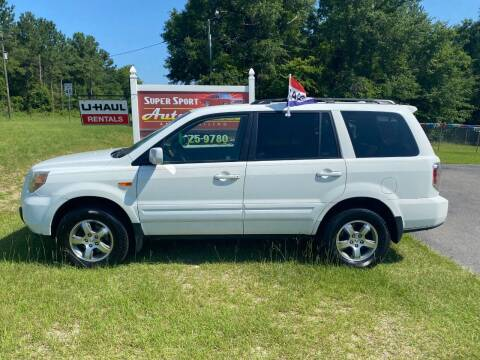 2008 Honda Pilot for sale at Super Sport Auto Sales in Hope Mills NC