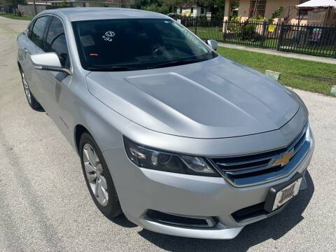 2017 Chevrolet Impala for sale at Eden Cars Inc in Hollywood FL