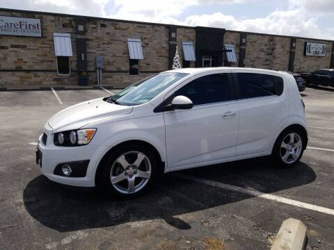 2012 Chevrolet Sonic for sale at Preferred Auto Sales in Tyler TX