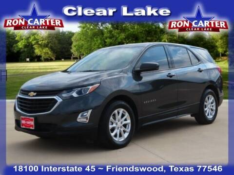 2019 Chevrolet Equinox for sale at Ron Carter  Clear Lake Used Cars in Houston TX