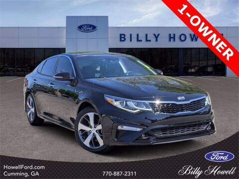 2019 Kia Optima for sale at BILLY HOWELL FORD LINCOLN in Cumming GA