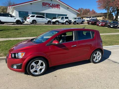 2013 Chevrolet Sonic for sale at Efkamp Auto Sales LLC in Des Moines IA
