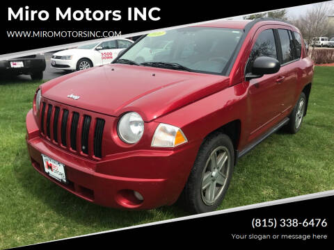 2010 Jeep Compass for sale at Miro Motors INC in Woodstock IL