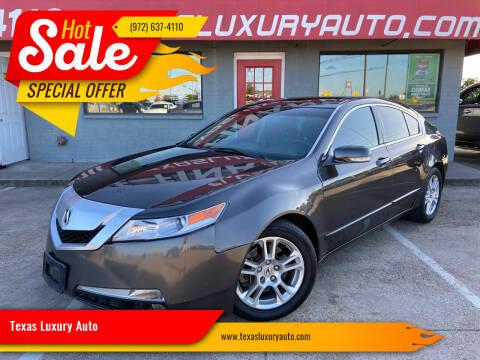 2010 Acura TL for sale at Texas Luxury Auto in Cedar Hill TX