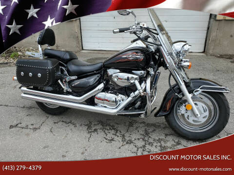 2005 Suzuki Boulevard  for sale at Discount Motor Sales inc. in Ludlow MA