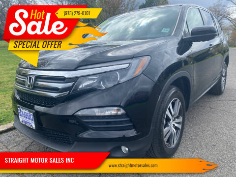 2018 Honda Pilot for sale at STRAIGHT MOTOR SALES INC in Paterson NJ