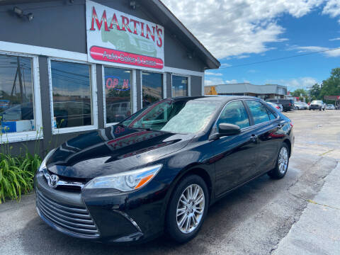 2015 Toyota Camry for sale at Martins Auto Sales in Shelbyville KY