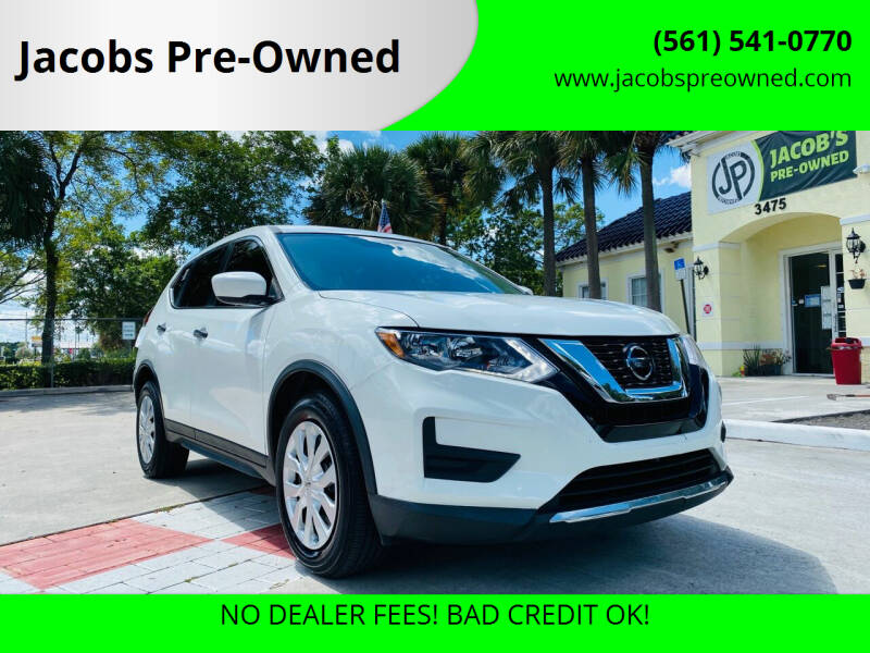 2018 Nissan Rogue for sale at Jacobs Pre-Owned in Lake Worth FL