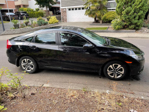 2017 Honda Civic for sale at Wild About Cars Garage in Kirkland WA