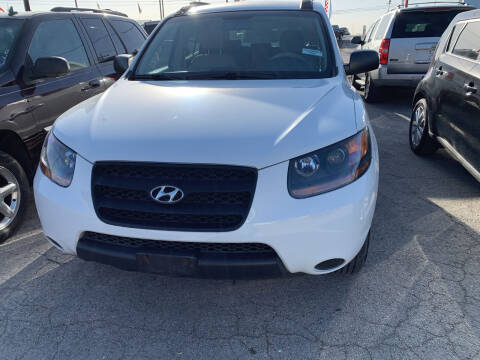 2009 Hyundai Santa Fe for sale at BULLSEYE MOTORS INC in New Braunfels TX