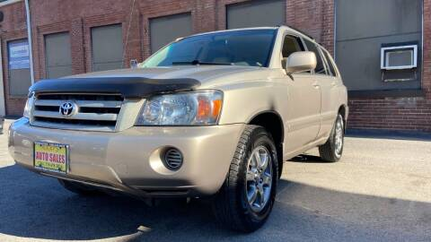 2006 Toyota Highlander for sale at Rocky's Auto Sales in Worcester MA