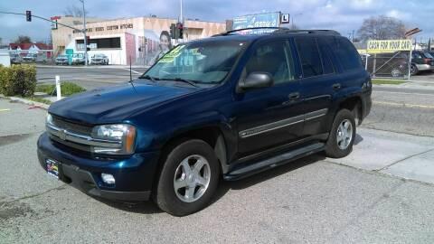 2002 Chevrolet TrailBlazer for sale at Larry's Auto Sales Inc. in Fresno CA