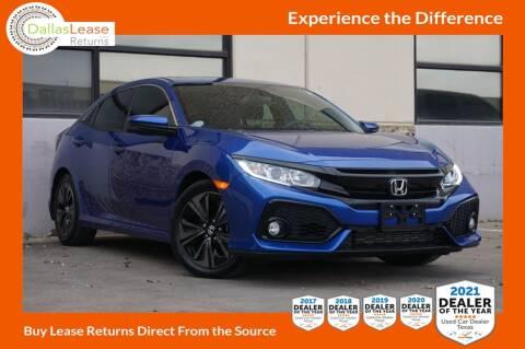 2017 Honda Civic for sale at Dallas Auto Finance in Dallas TX
