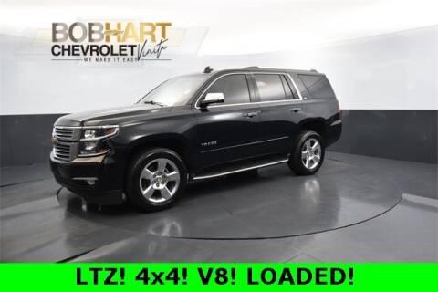 2016 Chevrolet Tahoe for sale at BOB HART CHEVROLET in Vinita OK