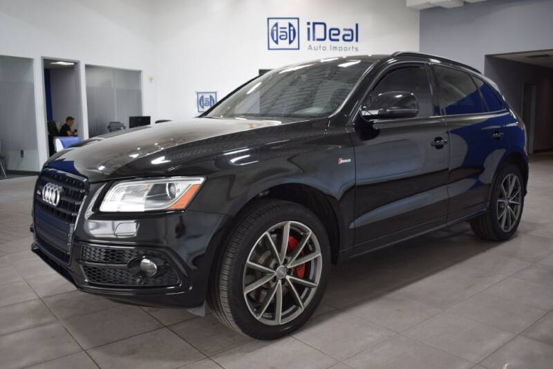2016 Audi SQ5 for sale at iDeal Auto Imports in Eden Prairie MN