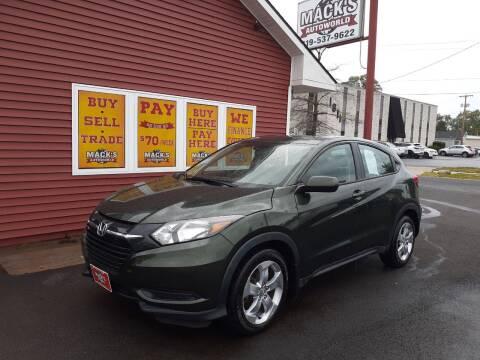 2016 Honda HR-V for sale at Mack's Autoworld in Toledo OH