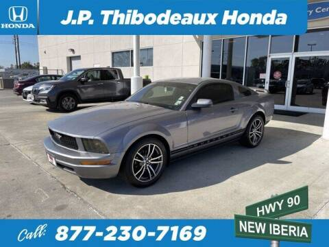 2006 Ford Mustang for sale at J P Thibodeaux Used Cars in New Iberia LA