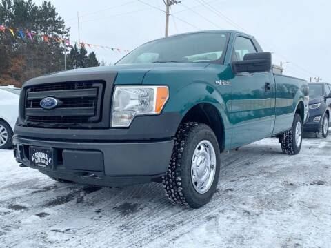 2013 Ford F-150 for sale at Affordable Auto Sales in Webster WI