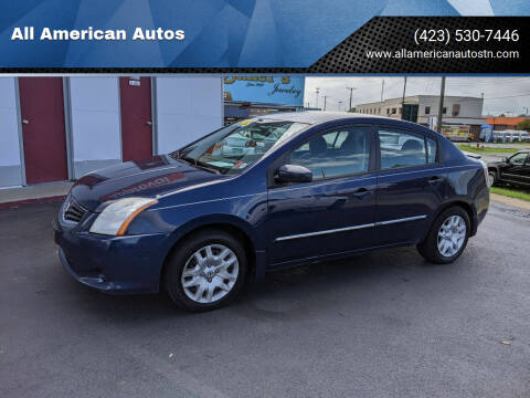 2012 Nissan Sentra for sale at All American Autos in Kingsport TN