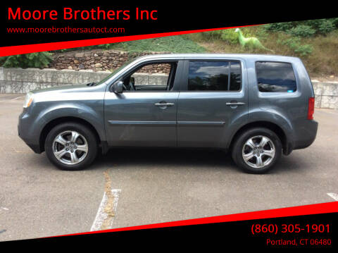 2012 Honda Pilot for sale at Moore Brothers Inc in Portland CT