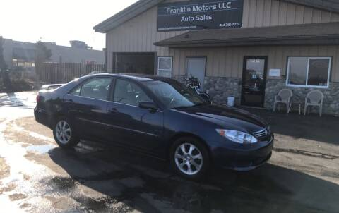 2005 Toyota Camry for sale at Franklin Motors in Franklin WI