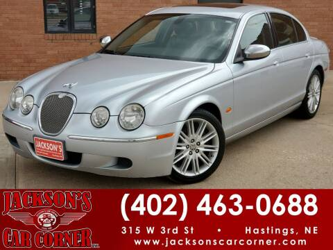 2008 Jaguar S-Type for sale at Jacksons Car Corner Inc in Hastings NE