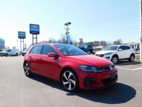 2019 Volkswagen Golf GTI for sale at Radley Cadillac in Fredericksburg VA
