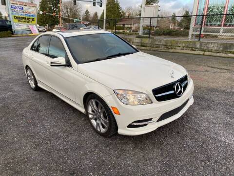 2011 Mercedes-Benz C-Class for sale at KARMA AUTO SALES in Federal Way WA