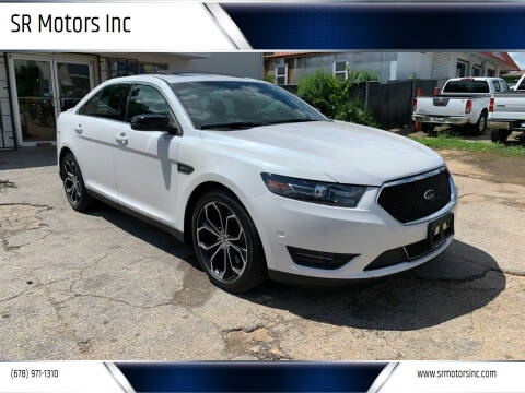 2013 Ford Taurus for sale at SR Motors Inc in Gainesville GA