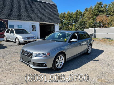2011 Audi A4 for sale at J & E AUTOMALL in Pelham NH