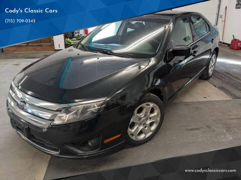 2010 Ford Fusion for sale at Cody's Classic Cars in Stanley WI
