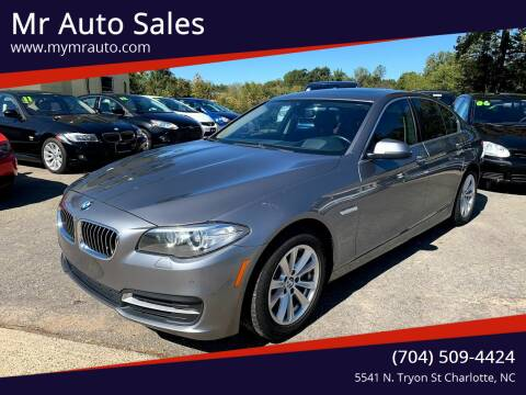 2014 BMW 5 Series for sale at Mr Auto Sales in Charlotte NC