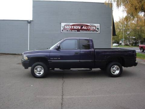 1998 Dodge RAM 150 for sale at Motion Autos in Longview WA