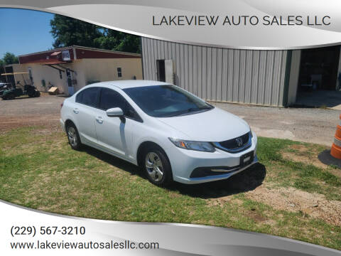2014 Honda Civic for sale at Lakeview Auto Sales LLC in Sycamore GA