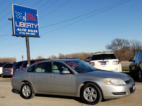 2007 Chevrolet Impala for sale at Liberty Auto Sales in Merrill IA