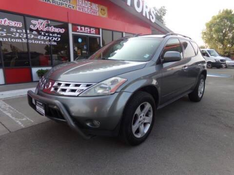 2005 Nissan Murano for sale at Phantom Motors in Livermore CA