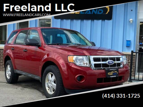 2011 Ford Escape for sale at Freeland LLC in Waukesha WI