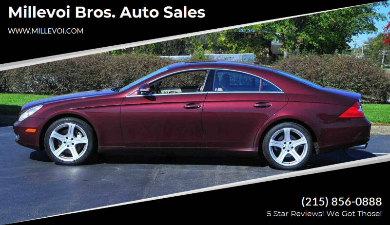 2007 Mercedes-Benz CLS for sale at Millevoi Bros. Auto Sales in Philadelphia PA