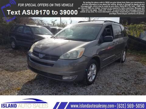 2005 Toyota Sienna for sale at Island Auto Sales in E.Patchogue NY