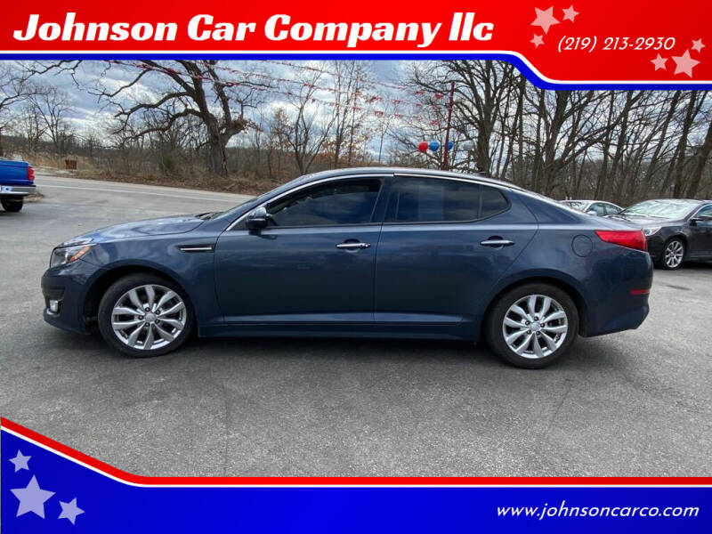 2015 Kia Optima for sale at Johnson Car Company llc in Crown Point IN