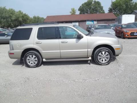 2006 Mercury Mountaineer for sale at BRETT SPAULDING SALES in Onawa IA